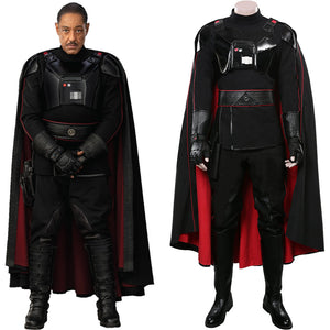 Star Wars The Mandalorian Halloween Carnival Costume Moff Gideon Cosplay Costume Outfits