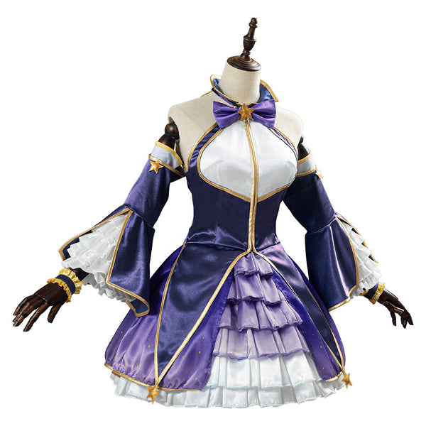 Princess Connect! Re:Dive Hatsune Women Uniform Outfit Cosplay Costume Halloween Carnival Costume