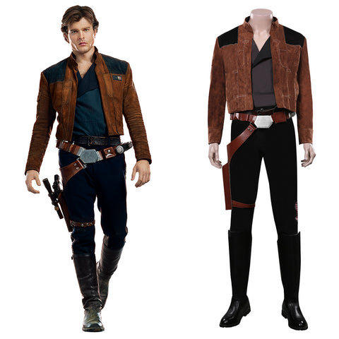 Solo: A Star Wars Story Halloween Carnival Costume Han Solo Cosplay Costume Outfits