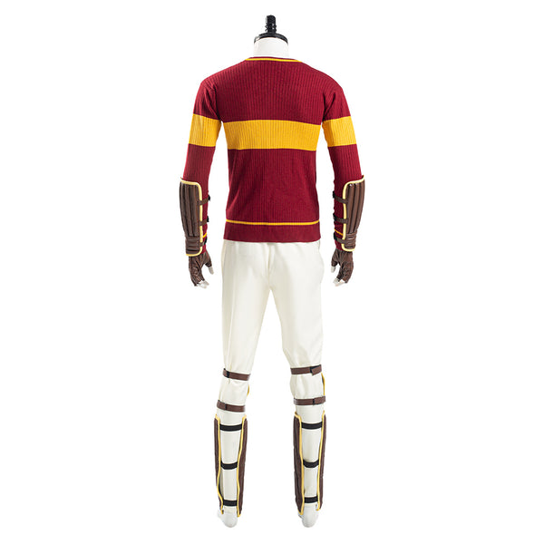 Harry Potter Gryffindor Quidditch Uniform Cosplay Costume Halloween Carnival Outfits