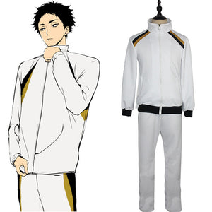 Haikyuu Halloween Carnival Suit Fukurodani Academy Cosplay Costume Volleyball Uniform Outfits