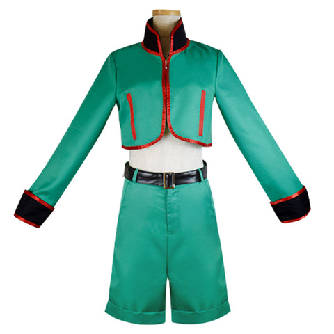 Hunter X Hunter Gon Freecss Cosplay Costumes Men Top Short Outfits Halloween Carnival Costume