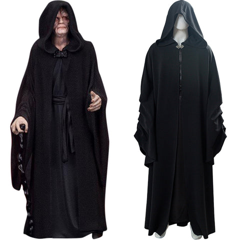 Sheev Palpatine Star Wars 9 : The Rise Of Skywalker Darth Sidious Cosplay Costume