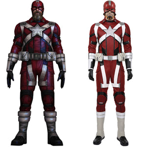 Black Widow 2020 film-Alexei Shostakov-Red Guardian Cosplay Costume Halloween Carnival Costume for Men