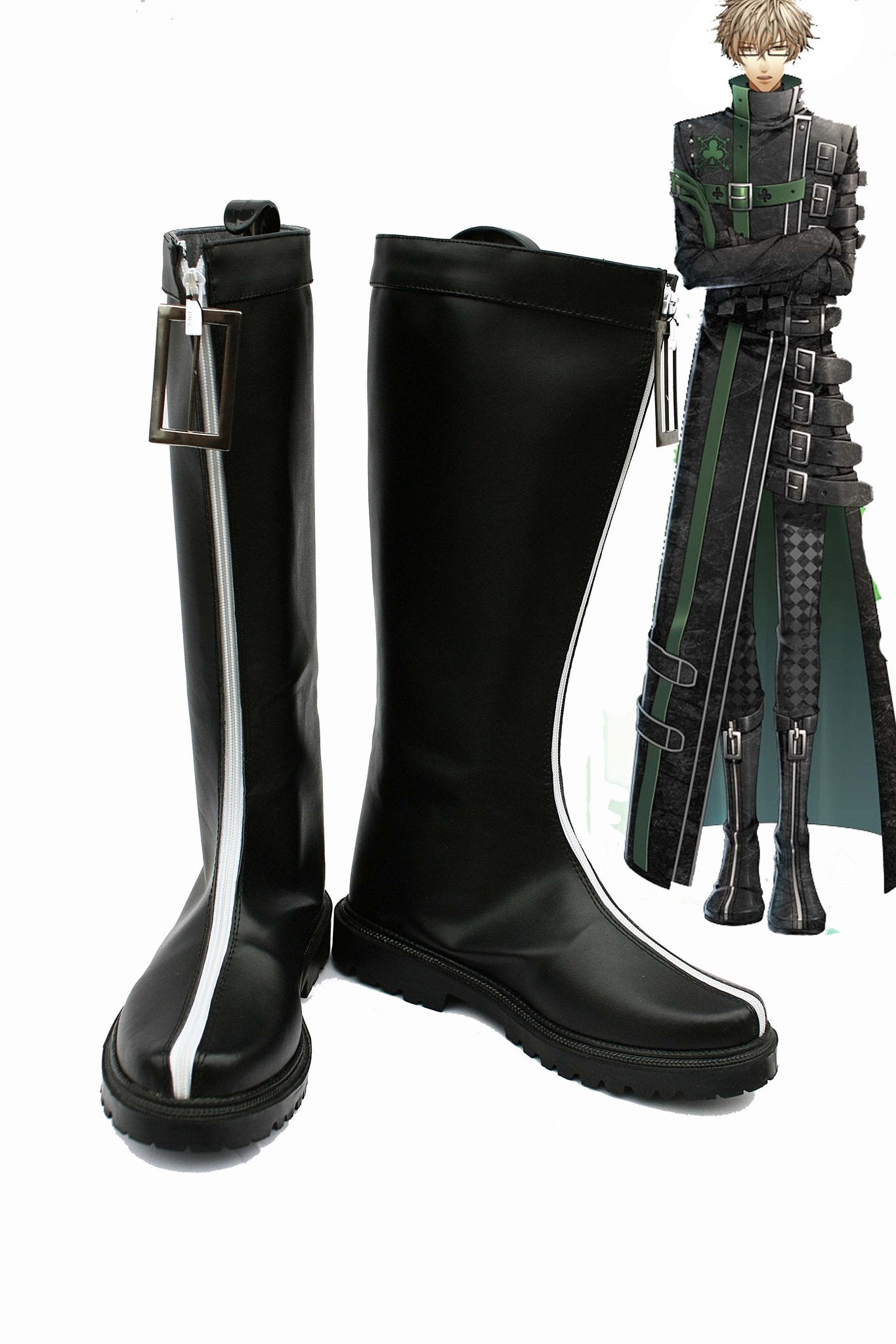 Amnesia Kent Cosplay Shoes Boots
