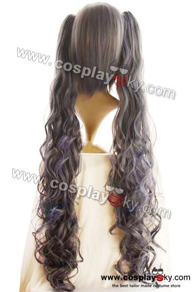 Black Butler Ciel Phantomhive Female 110cm Cosplay Wig