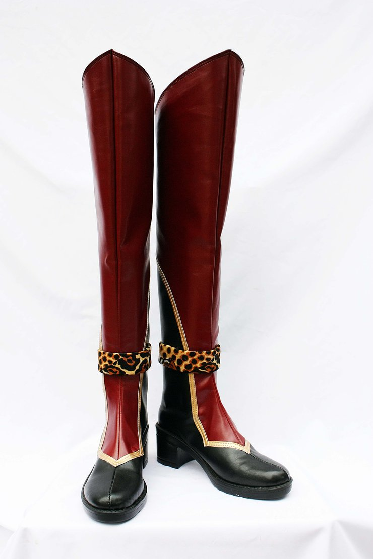 Dynasty Warriors Sun Ce Cosplay Boots Shoes