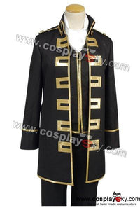 Gintama Shinsengumi Police Gold Soul Cosplay Costume uniform