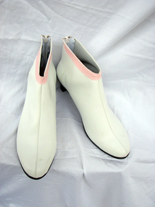 Gundam Seed Lacus Cosplay Boots Shoes Custom Made