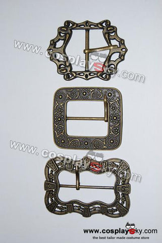 Pirates Of The Caribbean Jack Sparrow Pirate Belt Buckles