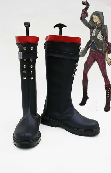 Librarian-Unlight Salgado Cosplay Shoes Boots
