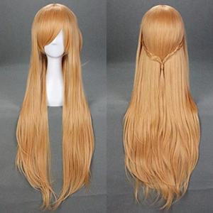 Sword Art Online Asuna Yuuki Long Cosplay Wig