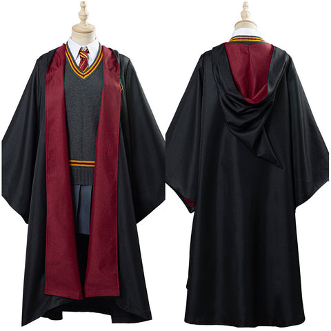 Harry Potter Granger Gryffindor School Uniform Hermione Cosplay Costume Women Robe Cloak Outfits Halloween Carnival Costume