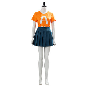 Uraraka Ochako My Hero Academia Season 4 School Uniform Outfit Cosplay Costume