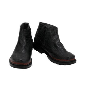 Good Omens Devil Crowley Cosplay Boots Shoes