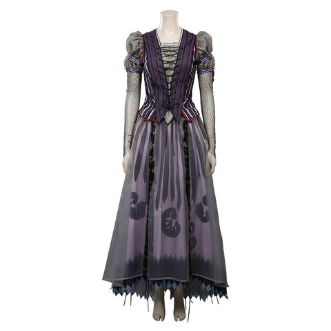 Lemony Snicket's A Series of Unfortunate Events Halloween Carnival Suit Violet Baudelaire Cosplay Costume Dress Outfits