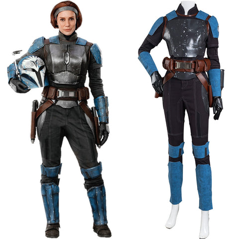 The Mandalorian S2 Halloween Carnival Suit Bo-Katan Kryze Cosplay Costume Jumpsuit Outfits