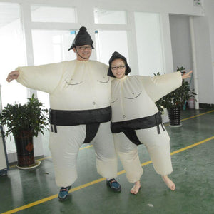 Adult Size Inflatable Costume Sumo Sumou Wrestler Costume
