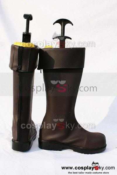 Axis powers Hetalia Prussia Cosplay Boots Shoes