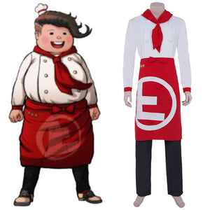 Super Danganrondo 2 Halloween Carnival Outfit Hanamura Teruki Cosplay Costume Top Pants Suit