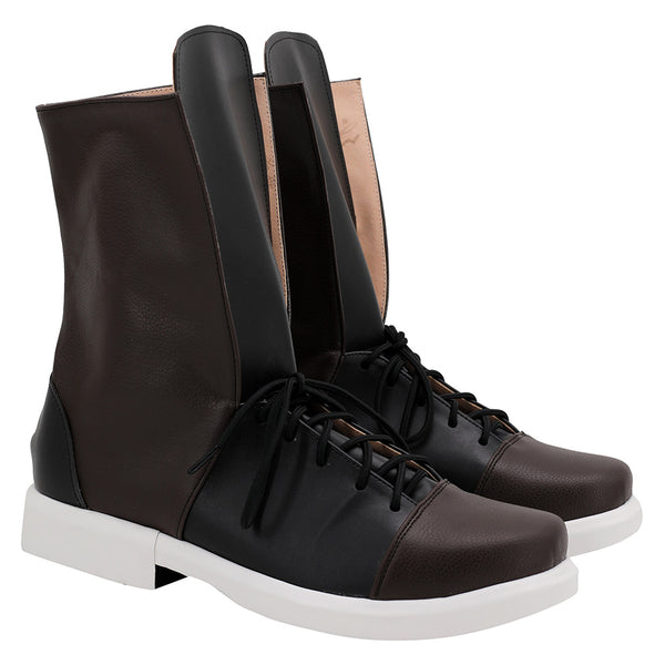 League of Legends LOL TRUE DAMAGE Yasuo Cosplay Shoes Halloween Costumes Accessory Boots Custom Made