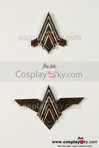 Battlestar Galactica Officer Uniform Pin Badge Set of 2