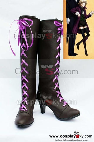 Black Butler?Alois Trancy Cosplay Boots Shoes