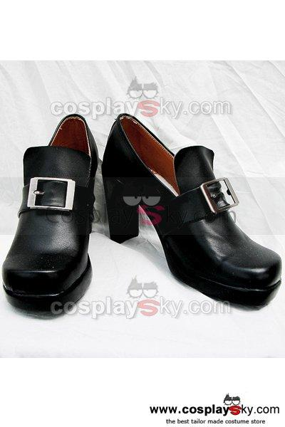 Black Butler Ciel Cosplay Boots Black Shoes Custom Made