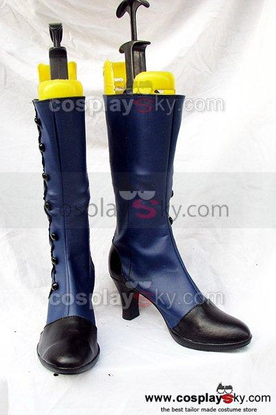 Black Butler Ciel Cosplay Boots Shoes Blue