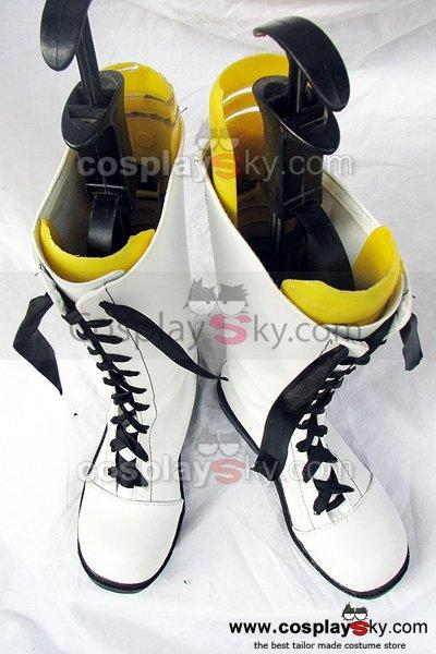 Black Butler Ciel Cosplay Boots Shoes White