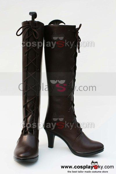 Black Butler Grell Cosplay Boots Shoes