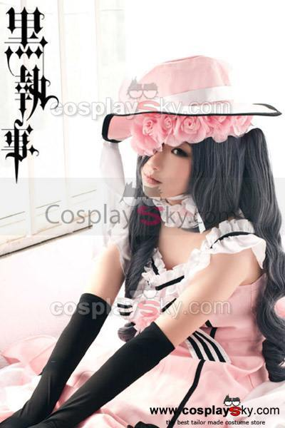Black Butler Kuroshitsuji Ciel Phantomhive Blue Mix Grey Cosplay Wig