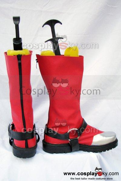 Blazblue Ragna The Bloodedge Cosplay Boots Shoes