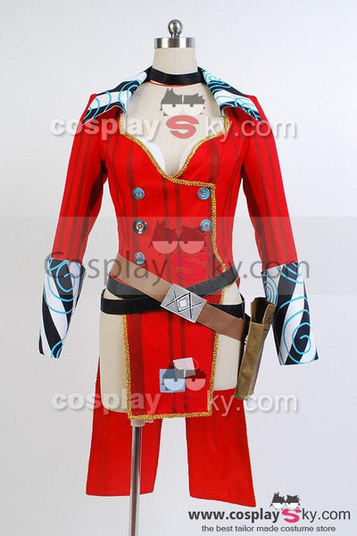 Borderlands 2 Mad Moxxi Red Uniform Cosplay Costume