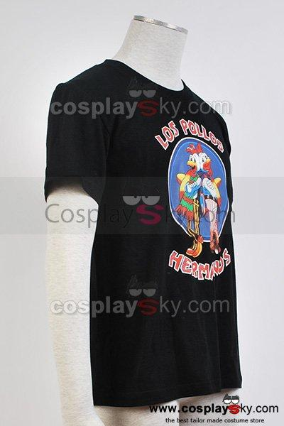 Breaking Bad Los Pollos Hermanos The Chicken Brothers Black T-Shirt Tee