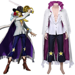 One Piece:Pirate Warriors 4 Halloween Carnival Costume Cavendish Cosplay Costume
