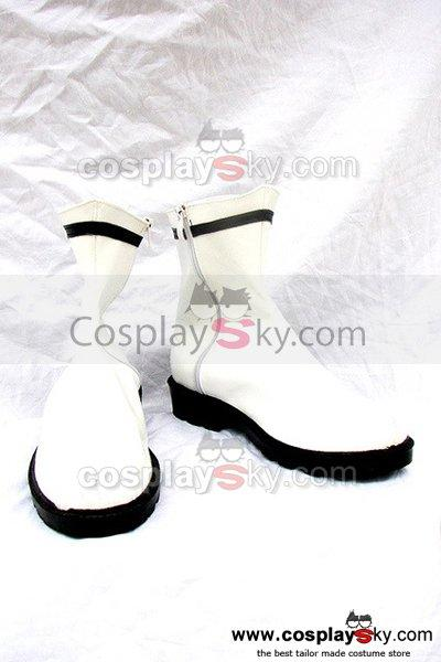 Classical White Boots Shoes Custom Made