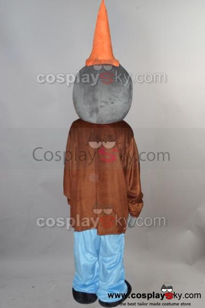 Conehead Zombie Plants vs. Zombies Mascot Costume
