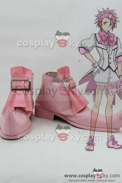 Cute High Earth Defense Club LOVE! Defense Club Ry? Zaou Boots Cosplay Shoes