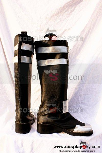 D.Gray-man Brown Cosplay Boots Shoes Custom Made