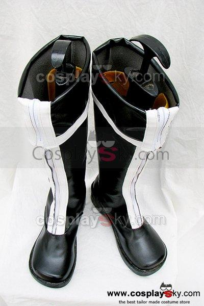 D.Gray-man Cosplay Zipper boots Custom Made