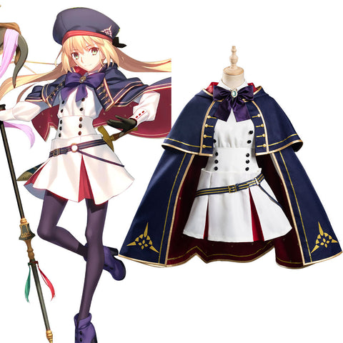 Fate/Grand Order FGO Halloween Carnival Suit Altria Pendragon Cosplay Costume Women Dress Outfit