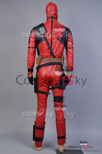Deadpool Wade Wilson Cosplay Costume Whole Set In 2016 Film