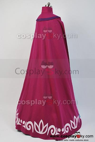 Frozen Elsa Coronation Dress Costume Cosplay