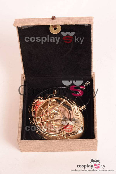 Doctor Strange Dr.Stephen Eye of Agamotto Amulet Pendant Necklace Cosplay Prop
