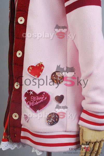 LoveLive! Valentine's Day Yazawa Nico  Uniform Cosplay Costume