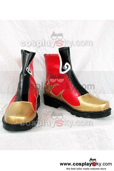 Dynasty Warriors Zhou Yu Cosplay Boots Shoes
