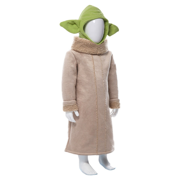 Star Wars The Mandalorian Baby Yoda Cosplay Costume For Kids
