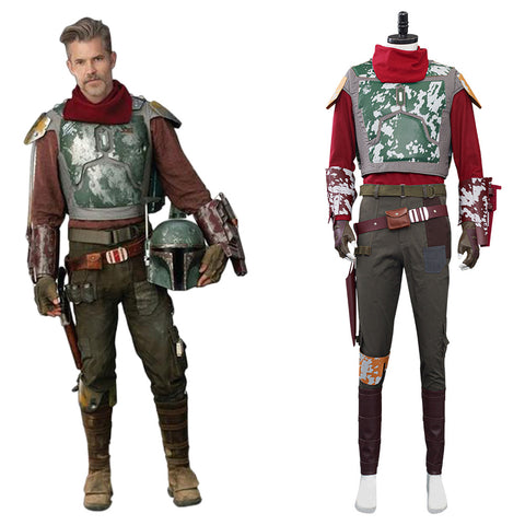 Star Wars Halloween Carnival Suit Mandalorian Cosplay Costume Outfits