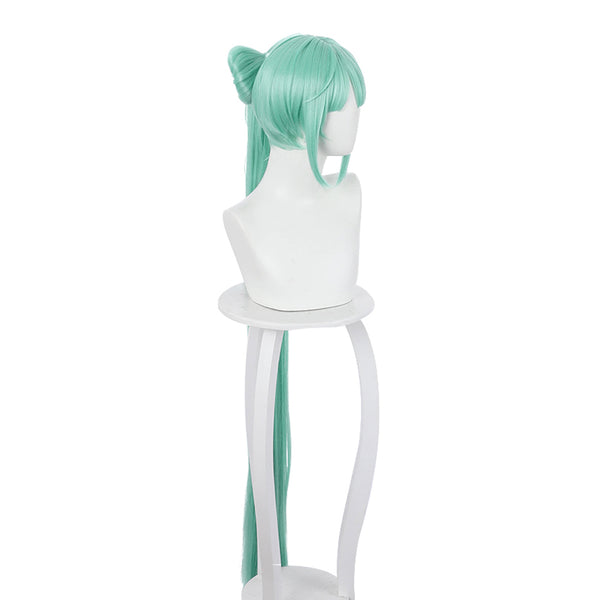 VOCALOID Carnival Halloween Party Props Hatsune Miku Cosplay Wig Heat Resistant Synthetic Hair